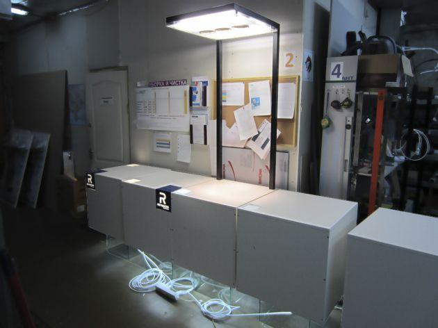 Стойки под образцы продукции, 2012
