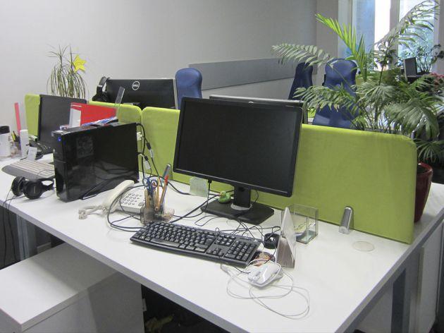 Тканевые офисные перегородки, 2016